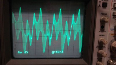 Oscilliscope Readings